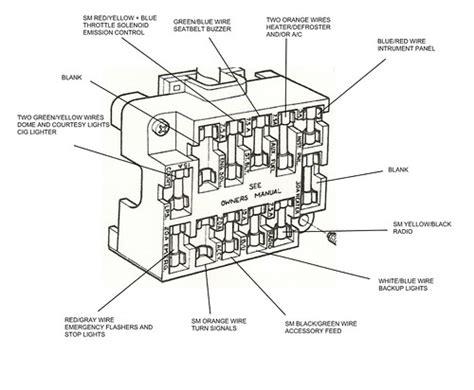 Mazda Van Fuse Box Auto Electrical Wiring Diagram