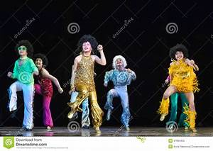 Children dancing on stage Editorial Image