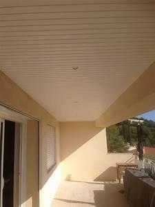 Faux Plafond Pvc : faux plafond pvc d 39 une terrasse de maison le lavandou ~ Premium-room.com Idées de Décoration