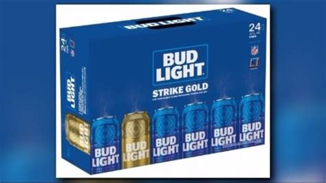 bud light gold can contest gold beer cans could win you super bowl tickets for life