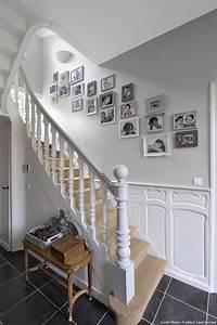 les 117 meilleures images a propos de entree sur pinterest With superior couleur pour une cage d escalier 3 noir blanc un style