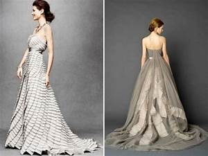 grey silver wedding dresses bhldn 2012 trends With silver grey wedding dress