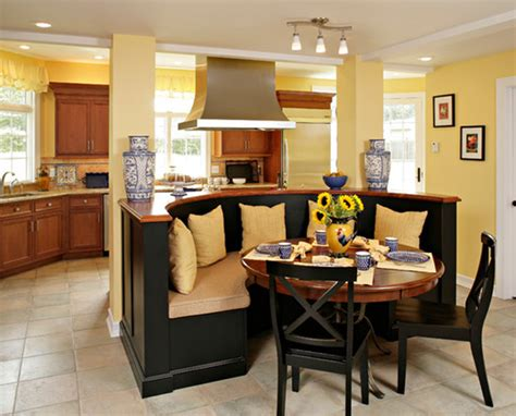 Kitchen Island Booth Ideas by Kitchen Island With Booth Seating House Furniture