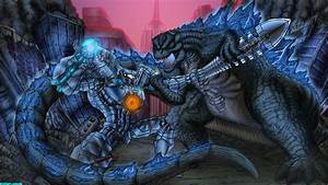Godzilla VS Gypsy Danger by Exemplarium on DeviantArt