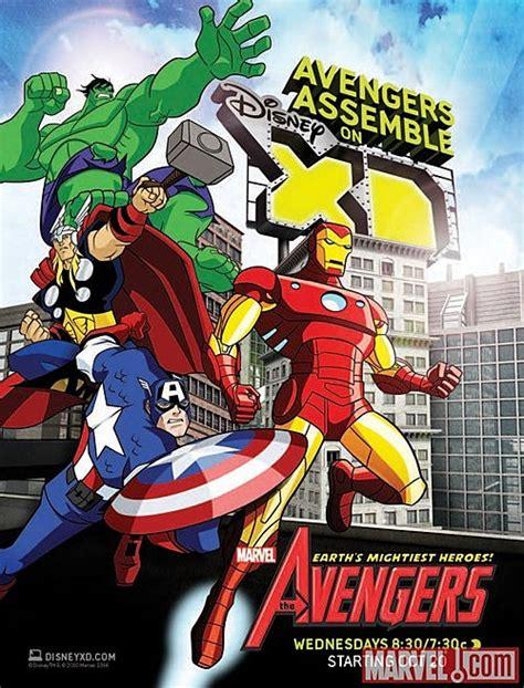 avengers earths mightiest heroes cartoon debuts october