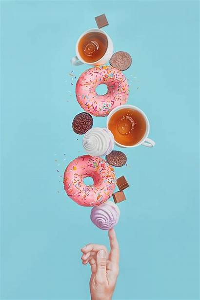 Still Donuts Photographers Sweets Balancing 500px Iso