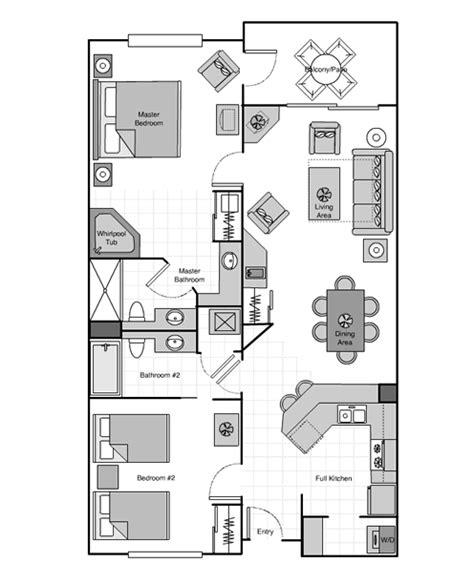2 Bedroom Villas In Orlando by Sheraton Vistana Villages Orlando Fl Exle 2 Bed Villa