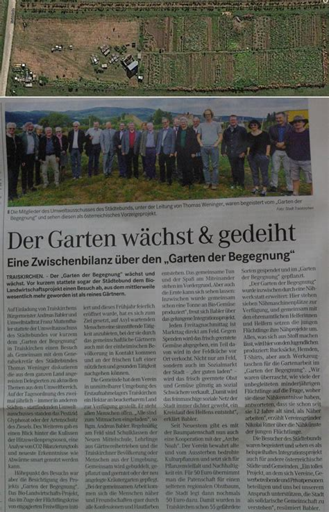Garten Der Begegnung Traiskirchen by Garten Der Begegnung Www Respekt Net