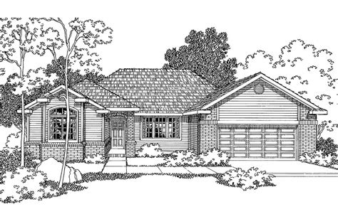 ranch house plans winston    designs