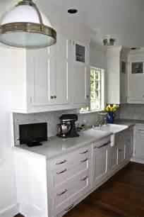White Shaker Kitchen Cabinet Hardware
