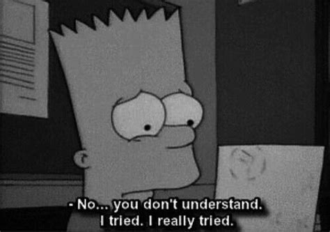 Sad, Bart, And Tired Image