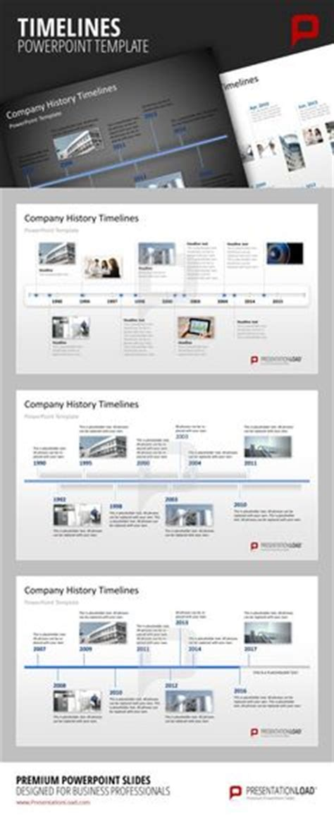 app golf design template show your company history on a timeline in a powerpoint