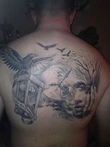 Tattoo Leben Und Tod : das leben oder der tod abgeheilt tattoos von tattoo ~ Frokenaadalensverden.com Haus und Dekorationen