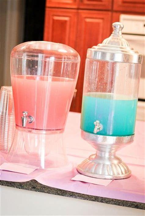 drink dispensers  offer pink lemonade   na