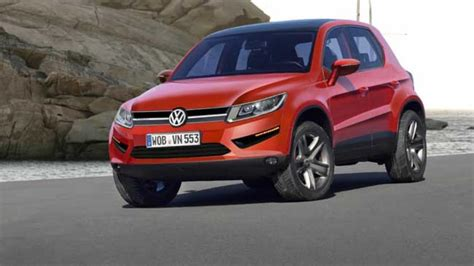 vw polo suv spy shot rendering car news carsguide
