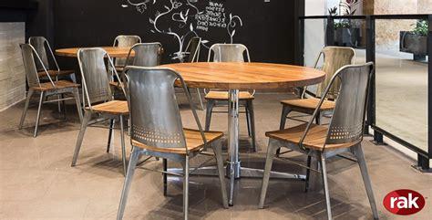 rak mobiliario  restaurantes  cafeterias