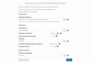Changement Adresse Carte Grise En Ligne Gratuit : simulation carte grise auto ~ Medecine-chirurgie-esthetiques.com Avis de Voitures