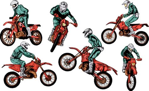 Motorcycle Clipart Free Free Vector Download