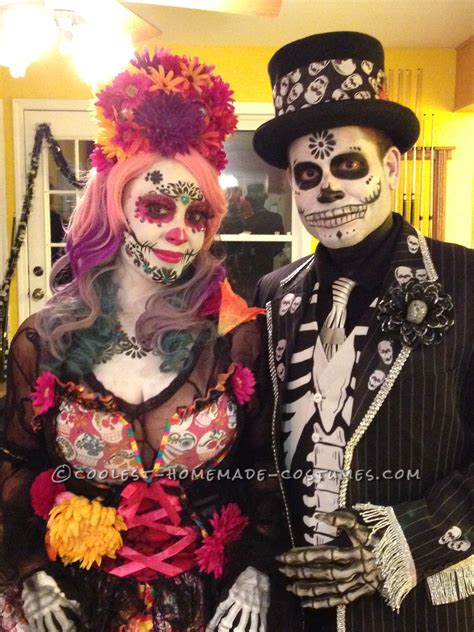 amazing day   dead couple costume day  dead costume couples costumes frankenstein