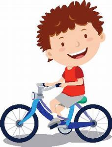 Little Boy Cycling | Clipart | The Arts | Image | PBS ...