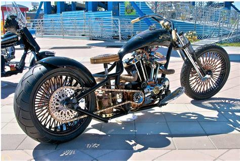 Hoosier Daddy Choppers Jack Daniel's Custom Harley
