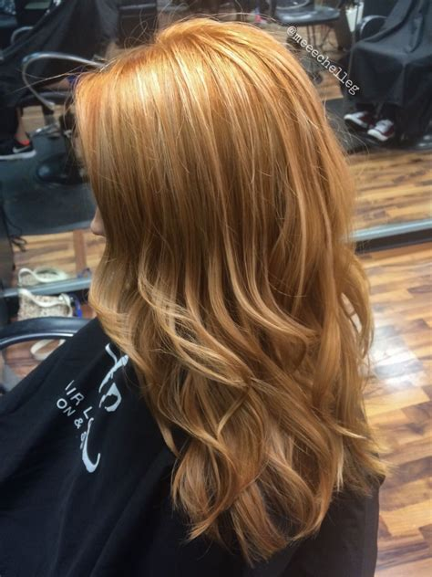 Hairstyle With Highlights by Copper Highlights Hair