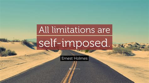 Ernest Holmes Quote:
