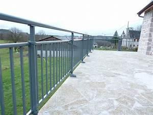 Garde Corps Terrasse Aluminium : garde corps rembarde terrasses bois acier aluminium ou composite ~ Melissatoandfro.com Idées de Décoration