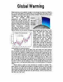 global warming essay in gujarati