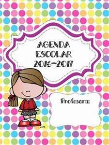 Maravillosa y colorida agenda escolar 2016 2017 Material Educativo