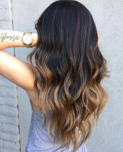 dark brown hair with light brown tips 35 rich and sultry dark brown hair color ideas