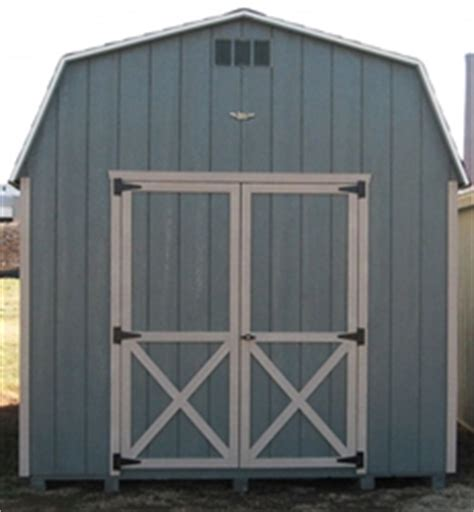 6x8 barn wood shed kit