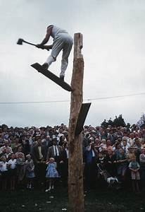 Wood-chopping competition – Shows and field days – Te Ara ...