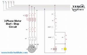 Motor Start Stop Circuit