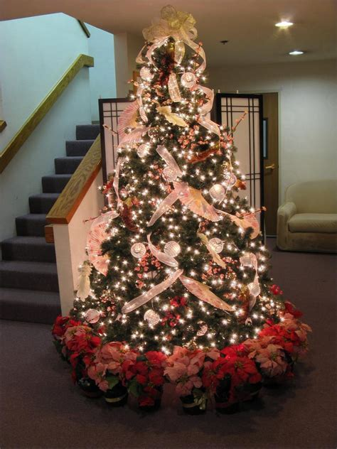 beautiful decorated christmas trees photograph beautiful c