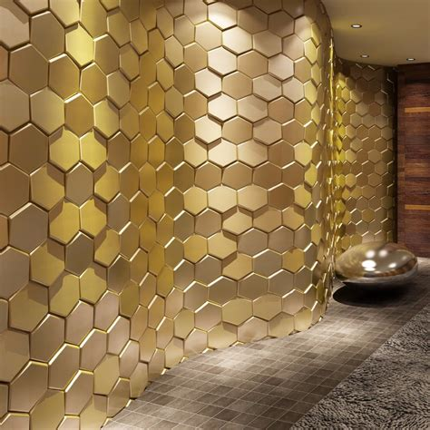 hexagon floor tiles 3d leather wall sticker peel and stick tiles faux leather