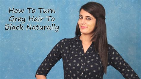 Hair Turning Naturally by Fomo How To Turn Grey Hair To Black Naturally