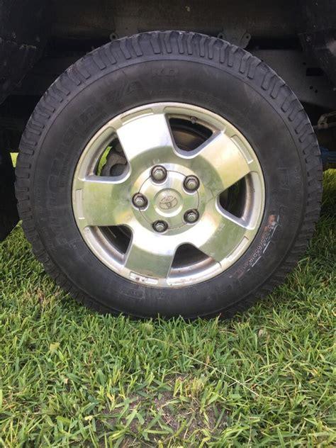 toyota tundra rims  tires ebay