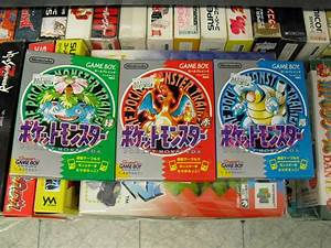 Pokemon Red, Pokemon Blue, and Pokemon Green by ...