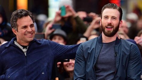 Mark Ruffalo, Chris Evans' Brother React to His NSFW Photo ...