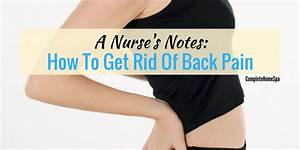 A Nurse U2019s Notes  How To Get Rid Of Back Pain