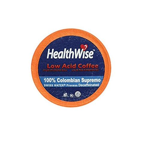 You can also check our buying guide before purchasing. HealthWise Low Acid Swiss Water Decaffeinated Coffee for ...