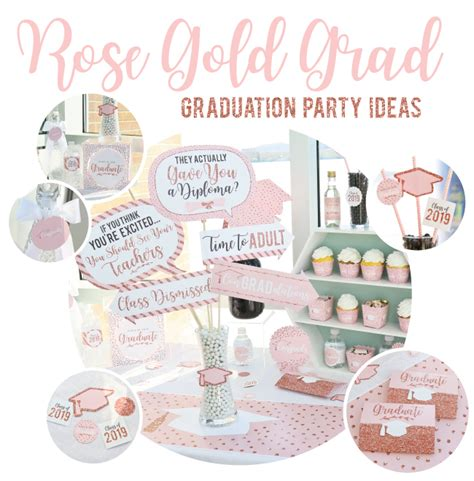 Rose Gold Party Decorations Ideas