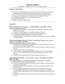 Insurance Underwriter Resume Format by Resume Exle Insurance Underwriter Resume Sle Loan