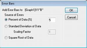 Skalierungsfaktor Berechnen : help online origin help adding error bars to your graph ~ Themetempest.com Abrechnung
