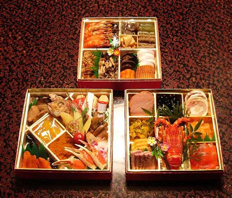 cuisine japonais osechi year s food in learning