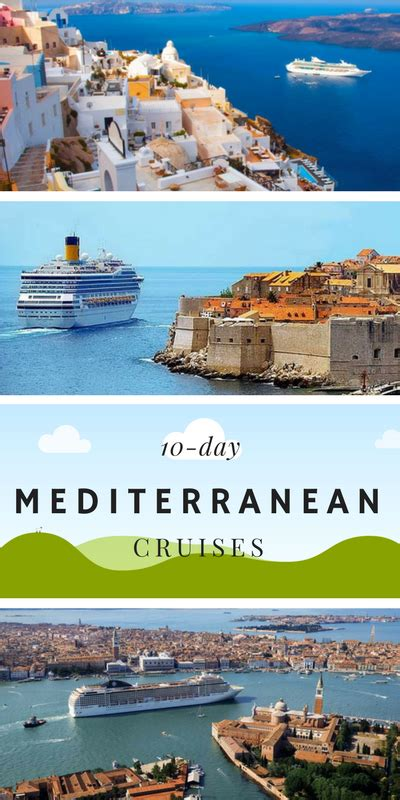10-day Mediterranean cruises. The complete list of 10-day ...