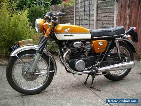 honda cb 250 1970 honda cb250 k2 for sale in united kingdom