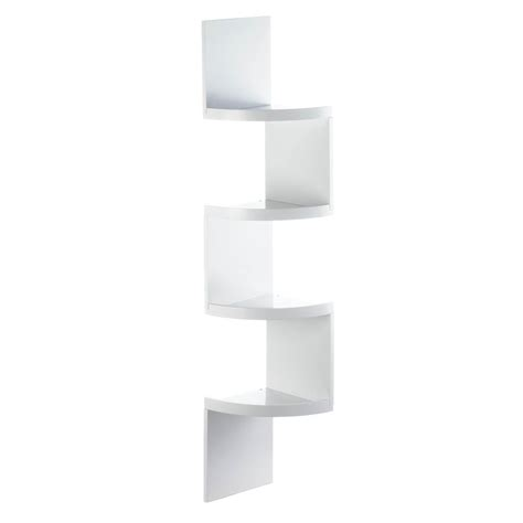 white corner shelf corner shelf wood corner shelf units decorative white 4 tier corner shelf ebay