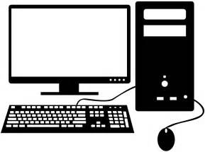 Computer Silhouette | Free vector silhouettes